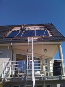 Installation de panneaux solaire en Alsace