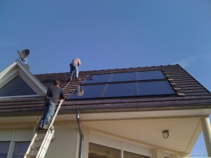 panneaux solaire thermique