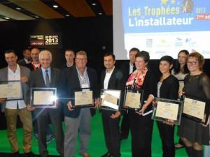 LAUREAT DU TROPHEES DE L'INSTALLATEUR 2013